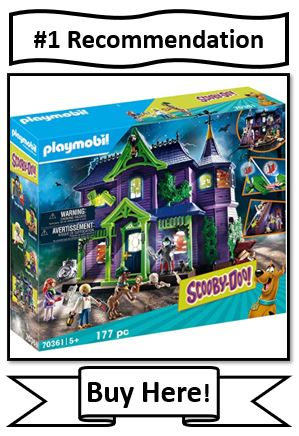 Playmobil Scooby-Doo Mystery Mansion, the best scooby-doo toys from playmobil