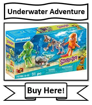 Playmobil Scooby-Doo Underwater Adventure