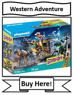 Playmobil Scooby-Doo Western Adventure Toy