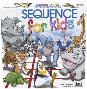 Sequence for Kids - Best board games for preschoolers