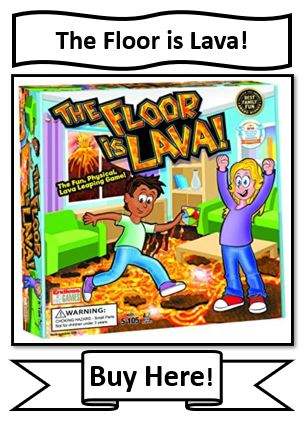 The Floor is Lava Board Game for Kids