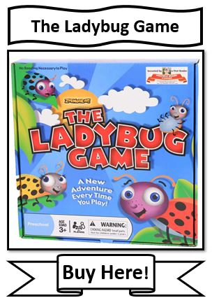 The Ladybug Game - board game for young kids