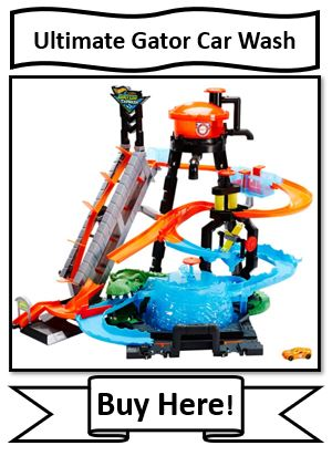 Hot Wheels Ultimate Gator Car Wash - List of Hot Wheels Color Changers