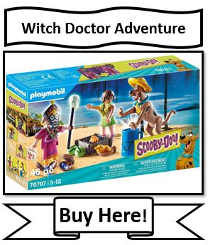 Playmobil Scooby-Doo Adventure with With Doctor - New Playmobil Scooby Doo Toys