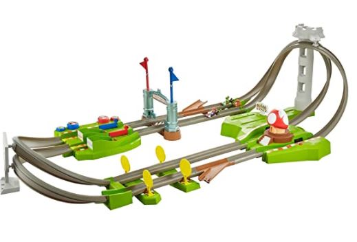 The Hot Wheels Mario Kart race track reviewed