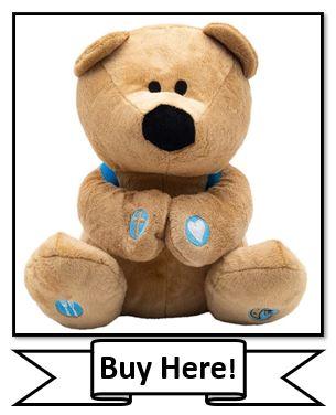 Prayer Bear Christian Stuffed Animal