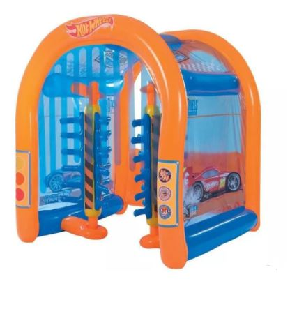 The Hot Wheels Inflatable Car Wash Reviewed