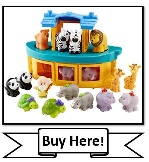 Fisher-Price Little People Noah's Ark; best Christian toys