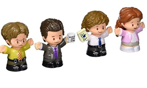 Fisher-Price Little People The Office Figures (Best Fisher-Price Little People Figures Collector Set)