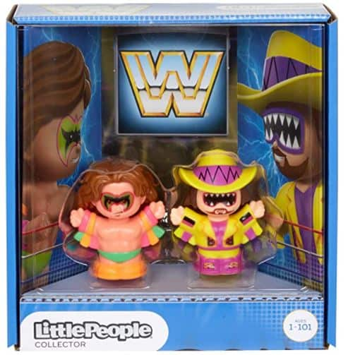 Fisher-Price Little People WWF Wrestling Little People Figure Set (Macho Man and Ultimate Warrior)