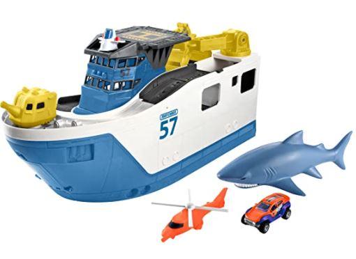 Best Bath Toys: Matchbox Shark Ship Vehicle