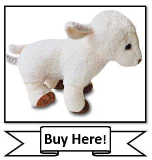 My Little Lamb Christian Plush Toy