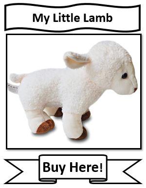 My Little Lamb Christian Stuffed Animal: Christian Audio Stuffed Animal: Christian Plush Toy