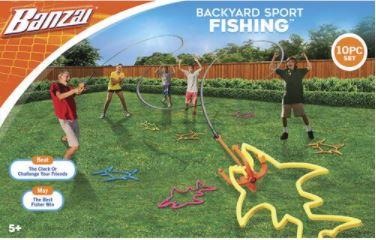 Banzai Backyard Sport Fishing Game Reviewed